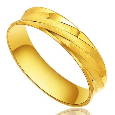 男士黄金戒指