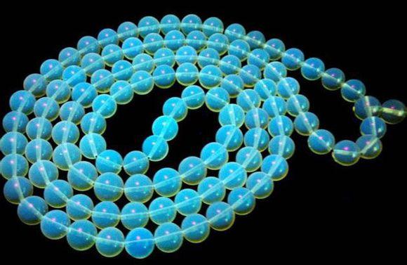 蓝珀项链,蓝珀,项链