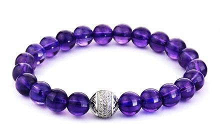 紫水晶手串,紫水晶手链