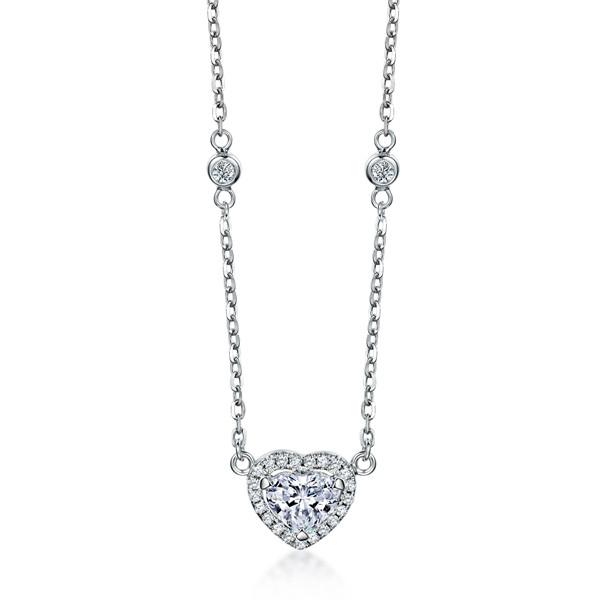 城市领秀钻石项链,项链,佐卡伊项链