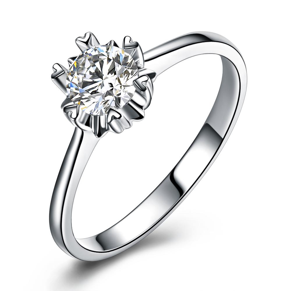 铂金钻戒,结婚钻戒,婚戒