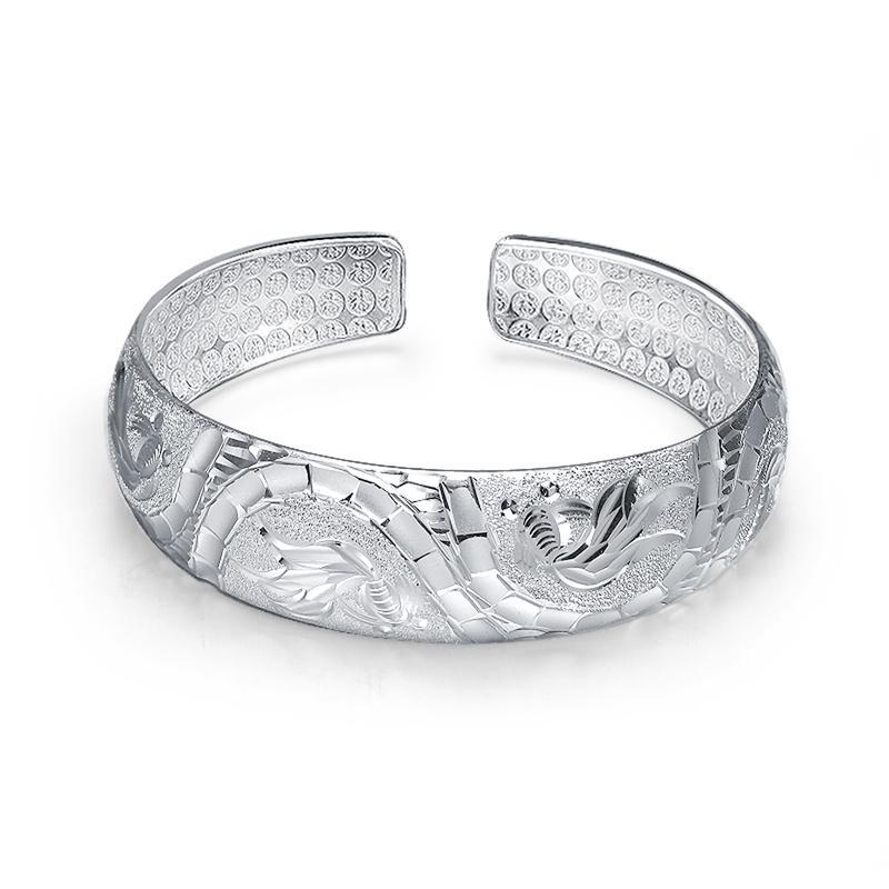 银手镯,手镯,银饰
