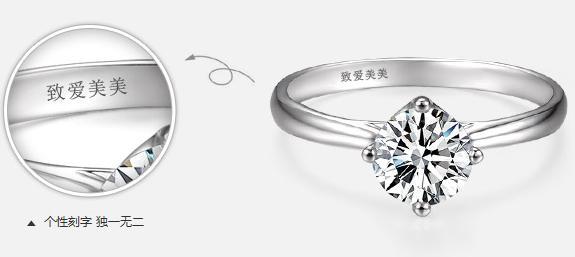戒指刻字,戒指,情侣戒指