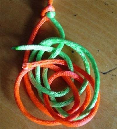菠萝结手链编法图解 菠萝结手链编法大全