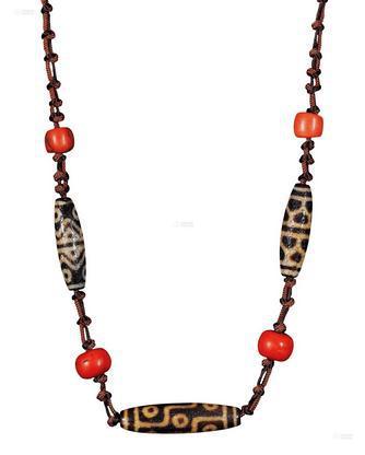 天珠,项链,佐卡伊项链