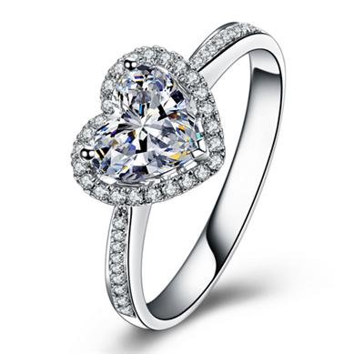 一克拉的钻石戒指多少钱