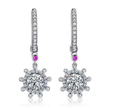 耳环,钻石耳环,佐卡伊耳环