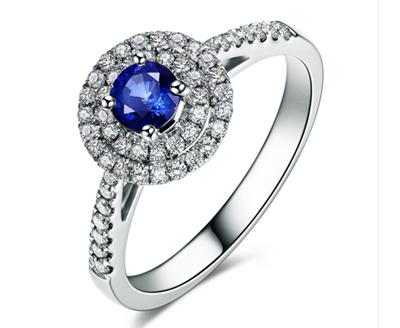 蓝宝石戒指,蓝宝石,佐卡伊戒指