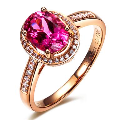 彩宝,红宝石,佐卡伊戒指