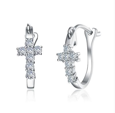 钻石耳环,铂金耳环,耳饰