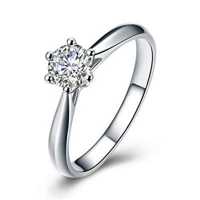 铂金戒指,钻戒,佐卡伊戒指