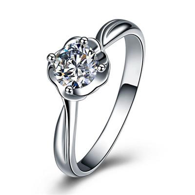 铂金戒指,戒指,钻戒