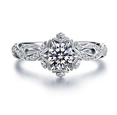 钻石戒指,钻戒,婚戒