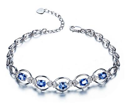 蓝宝石手链要怎么挑选