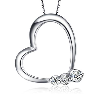 菲碧钻石吊坠,吊坠,钻石吊坠
