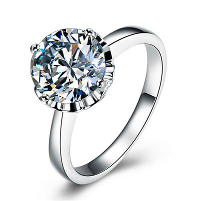 克拉钻戒,铂金戒指,钻石戒指
