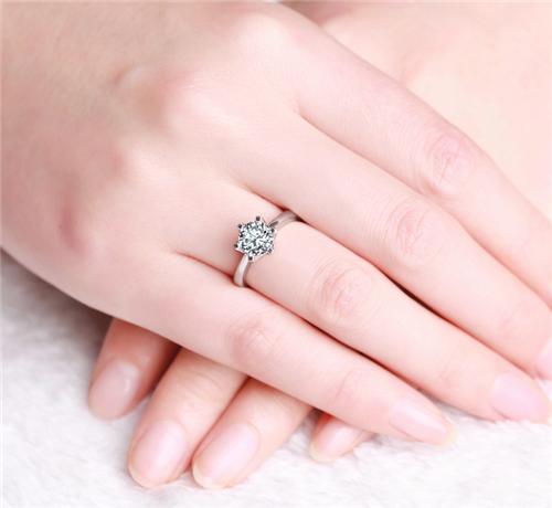钻戒,戒指,手寸