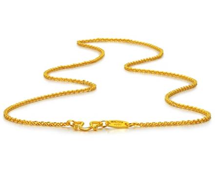 24k金项链,项链,佐卡伊项链