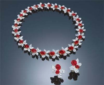 红宝石项链,项链,佐卡伊项链