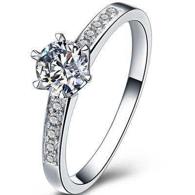 钻戒,铂金钻戒,钻石戒指