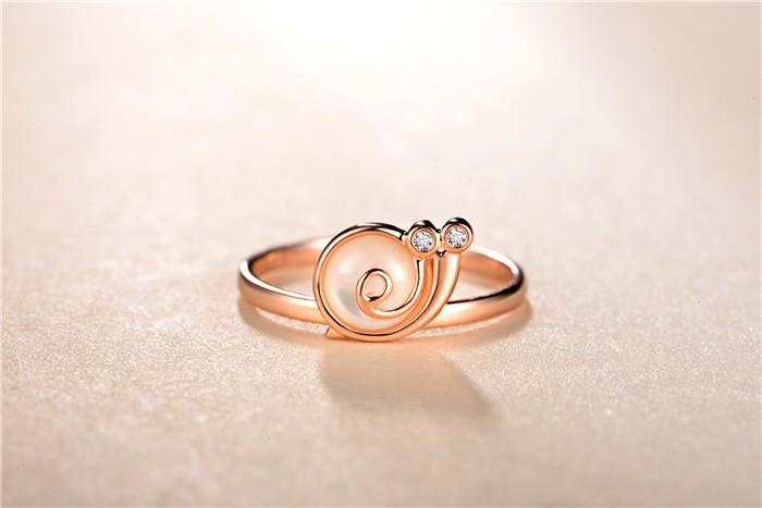 《如果蜗牛有爱情》剧中许诩求婚钻戒