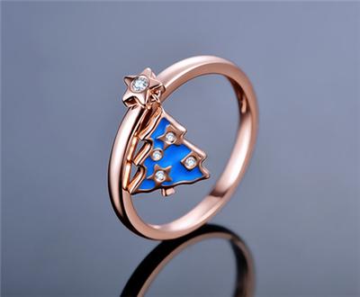 钻石戒托什么材质好