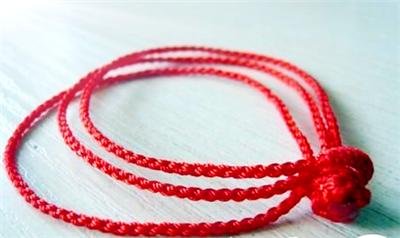 三股绳手链编法图解 三股绳编法教程