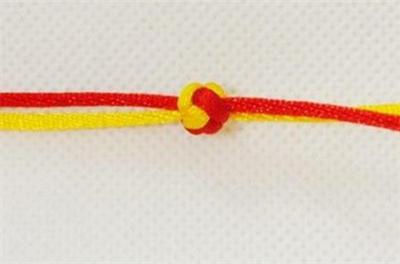 双线手链编法图解 双线手链编法教程