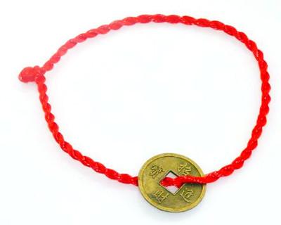 铜钱手链编法图解 铜钱手链编法教程