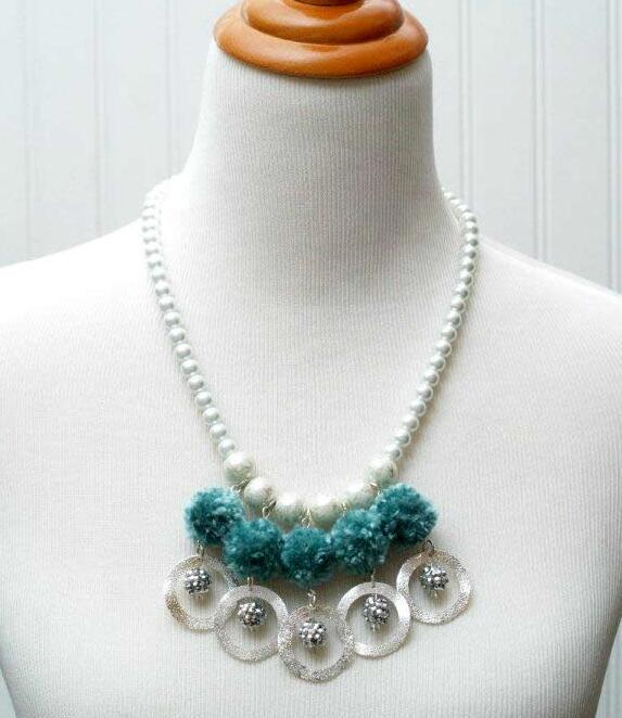 款非常时尚漂亮的珍珠项链