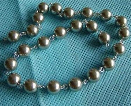 珍珠项链编法教程 漂亮珍珠项链编法图解