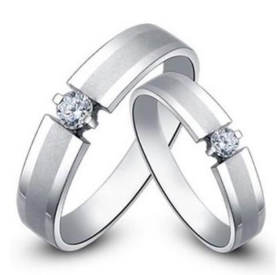 戒指,白金戒指,情侣对戒
