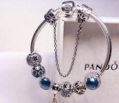 潘多拉手链搭配图片欣赏