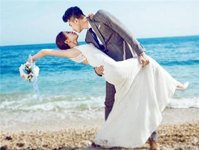 海边婚纱照片欣赏