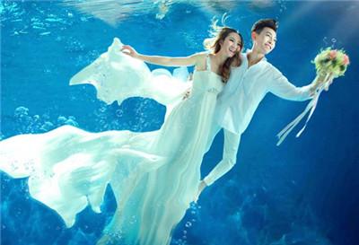 拍水下婚纱照注意事项