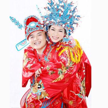 中式婚纱照风格