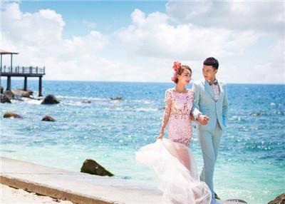 上海蔚蓝海岸婚纱摄影怎么样