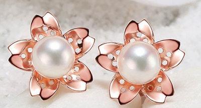 珍珠耳环,珍珠首饰