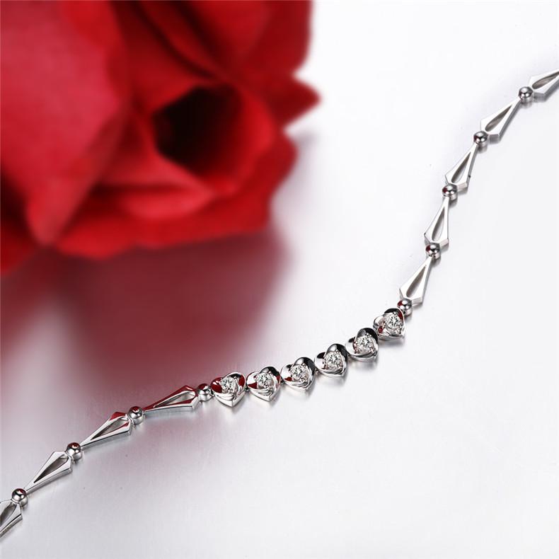 钻石手链,铂金手链,铂金手链保养