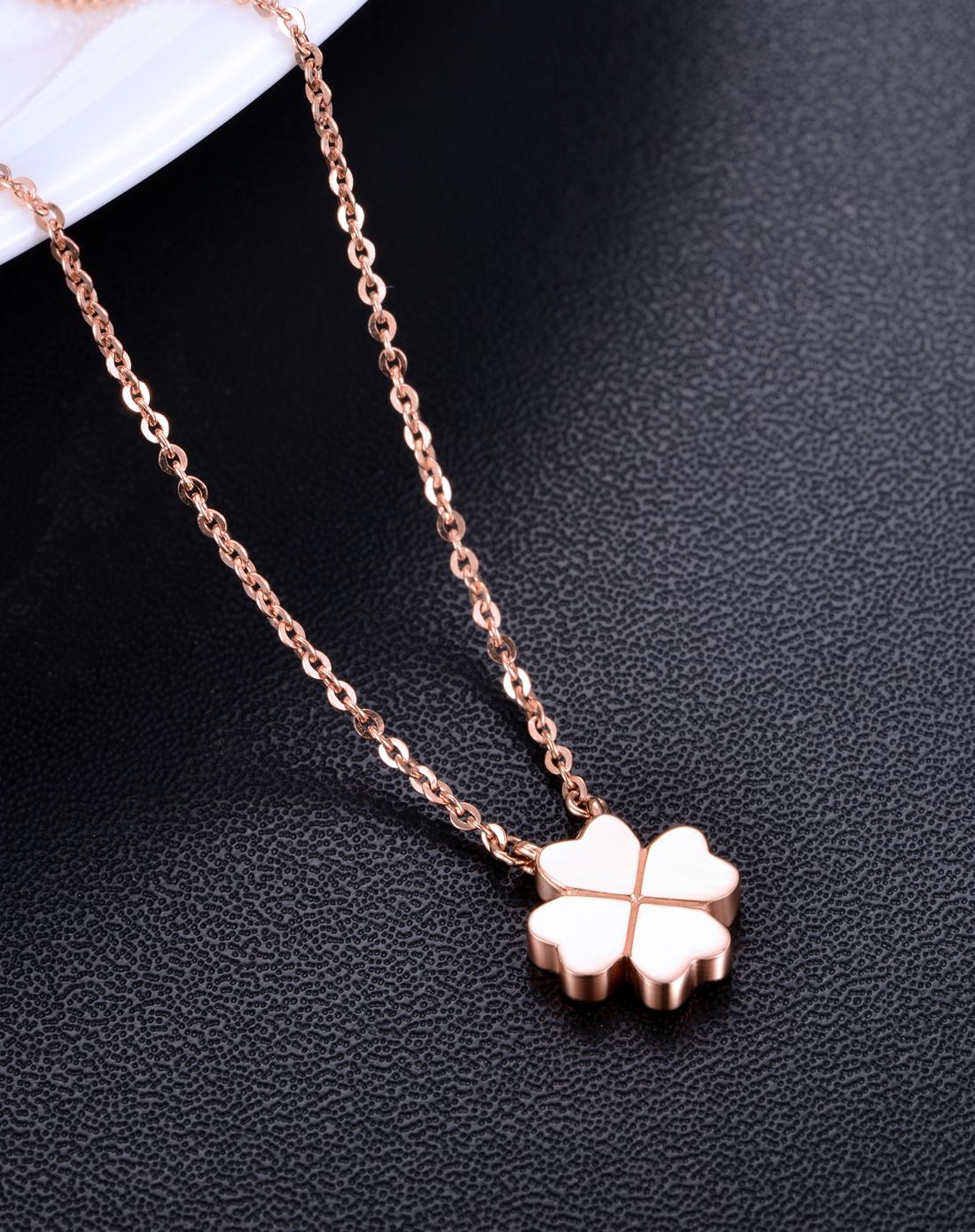 项链,玫瑰金项链,佐卡伊项链