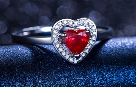 戒指,红宝石戒指,佐卡伊,佐卡伊红宝石戒指