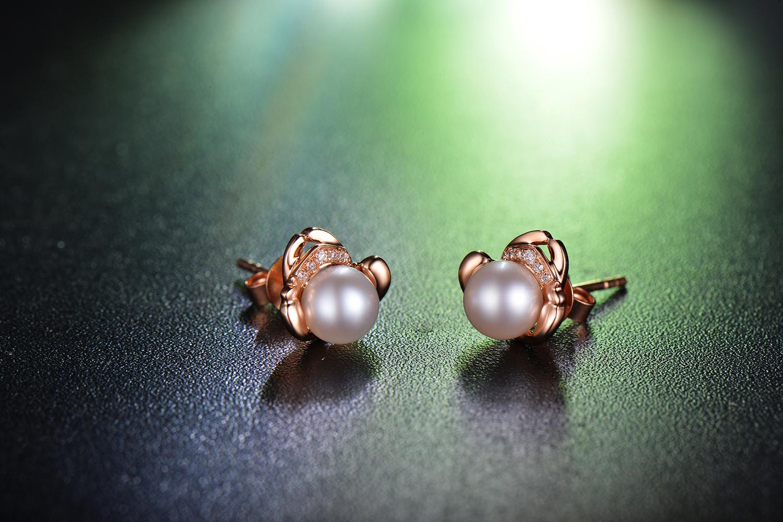 珍珠,珍珠耳环