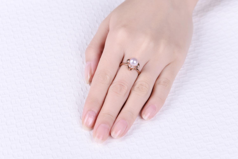 佐卡伊珍珠戒指款式
