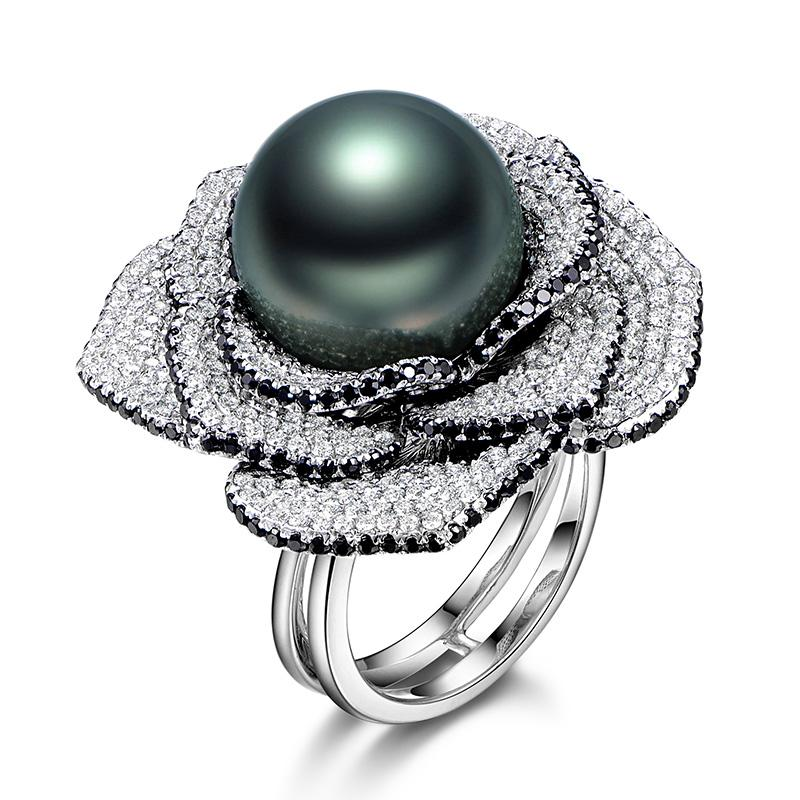 珍珠戒指,戒指,佐卡伊戒指,佐卡伊,结婚纪念日礼物