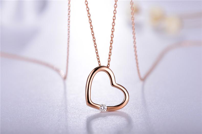 项链,玫瑰金项链,钻石项链,佐卡伊项链