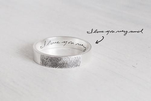 戒指,指纹戒指,定制戒指,佐卡伊戒指