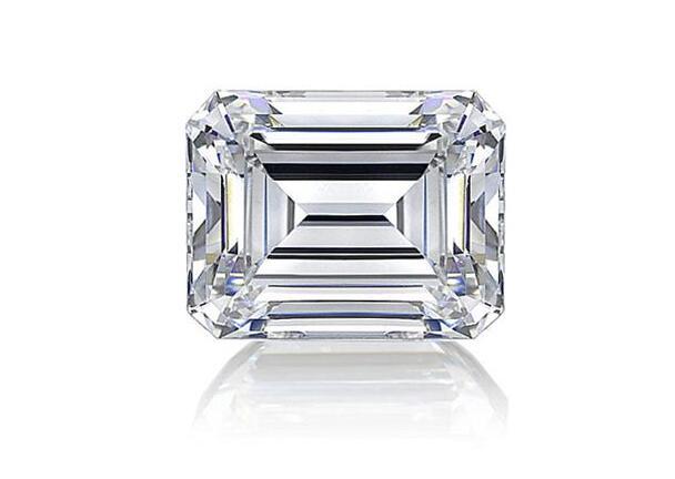 钻石切工,祖母绿形钻石,裸钻