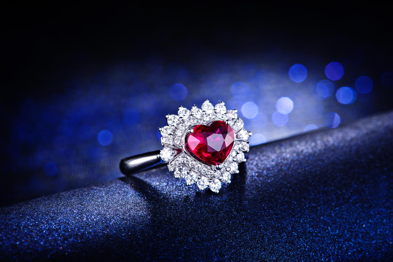 红宝石,戒指