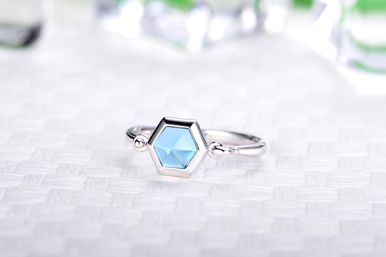 托帕石,戒指,彩宝