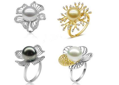 珍珠,珍珠戒指,戒指